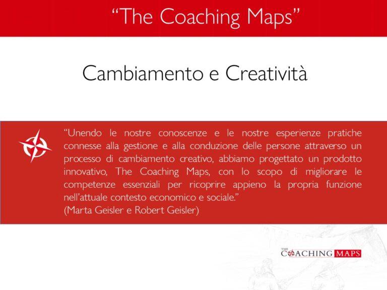 Cambiamento e Creatività